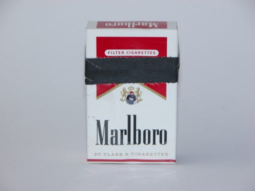 #1003 Marlboro Cigarettes #3 (replaces original #1 lost in storage)