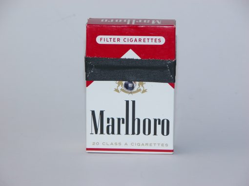 #1004 Marlboro Cigarettes #4 (replaces original #2 lost in storage)