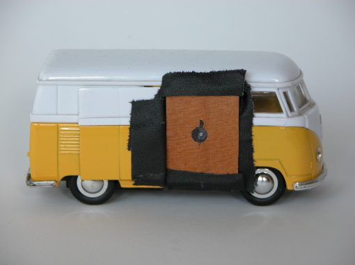 #1025 Miniature VW Van Model / VW Camper Van