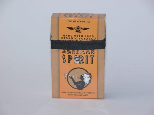 #1030 American Spirit Cigarettes #4 (replaces original tin given to student)