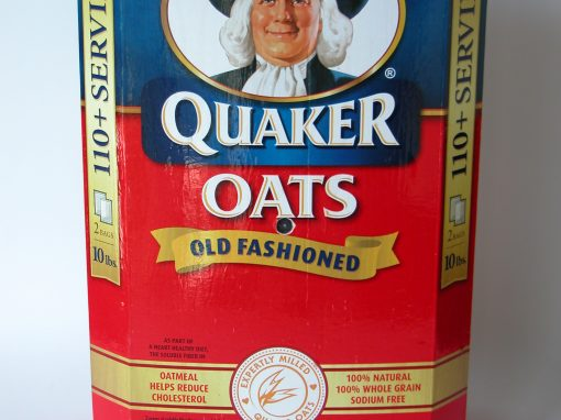 #800 Quaker Oats 10 Lb. Box #6
