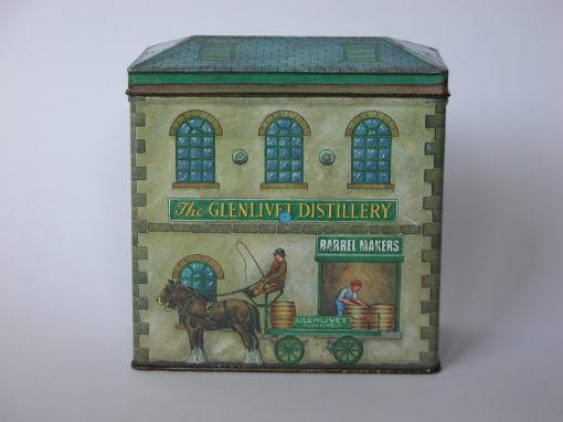 #810 The Glenlivet Distillery Commemorative Tin
