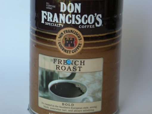 #829 Don Francisco Coffee #2