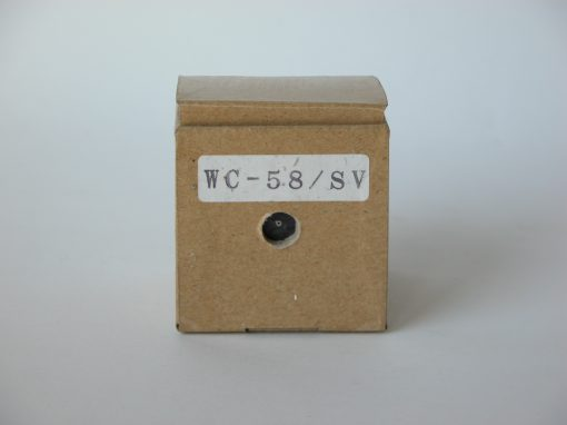 "#859 WC-58/SV (2"" plain cardboard box)"