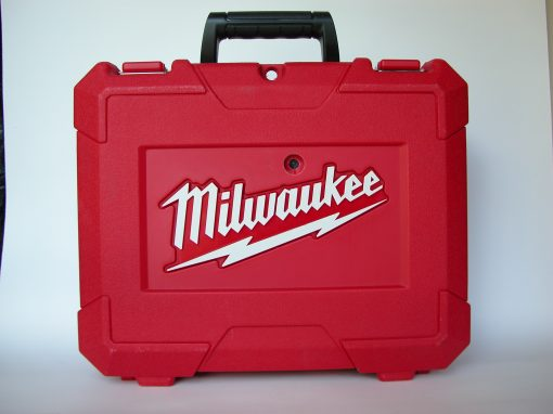 #904 Red Plastic Milwaukee Box for Ortho Film