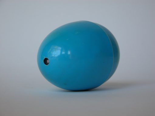 #926 Blue Plastic Egg