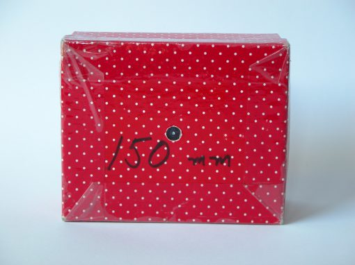 #927 Red & White Polka Dot for 150 mm Lens
