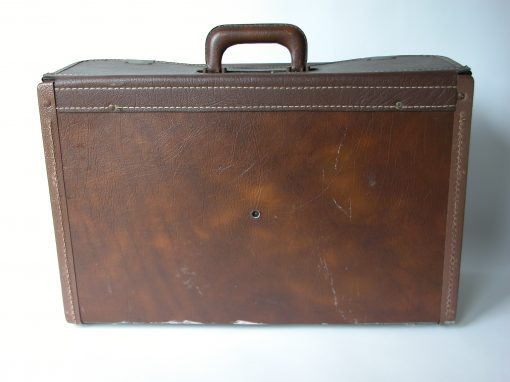 #958 Brown Satchel