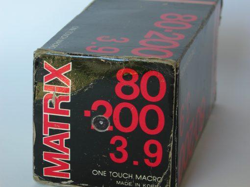 #962 Matrix Macro Lens