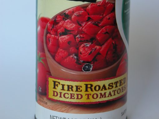 #970 No Name Fire Roasted Diced Tomatoes