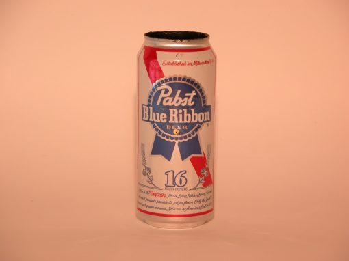 #421 16 oz. Pabst Blue Ribbon Beer