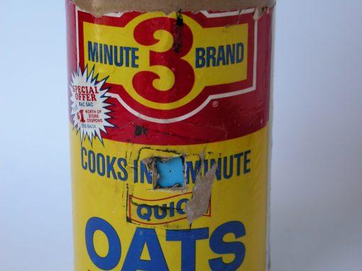 #726 3 Minute Brand Oats