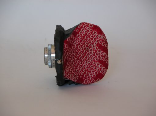 #181 Red Coin Purse w/60mm Lens