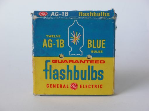 #736 AG 1B graduated BLUE Flashbulbs (stereo)