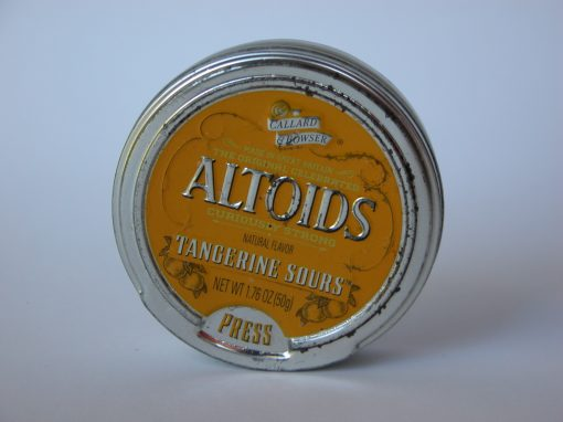 #607 ALTOIDS #5 (tangerine sours)