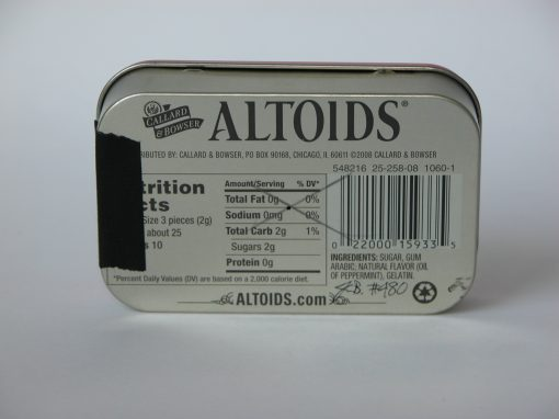 #480 ALTOIDS Peppermint (rectangular), #2