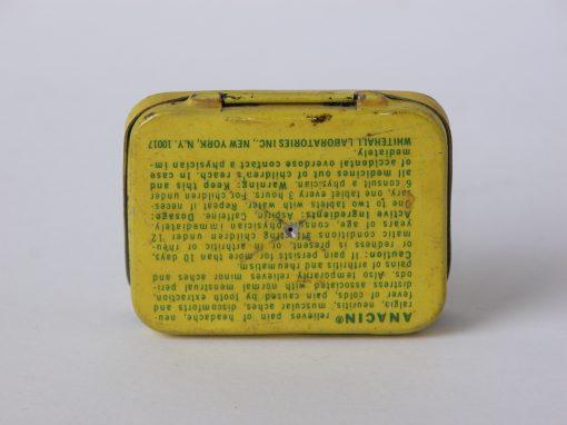 #334 ANACIN Tin