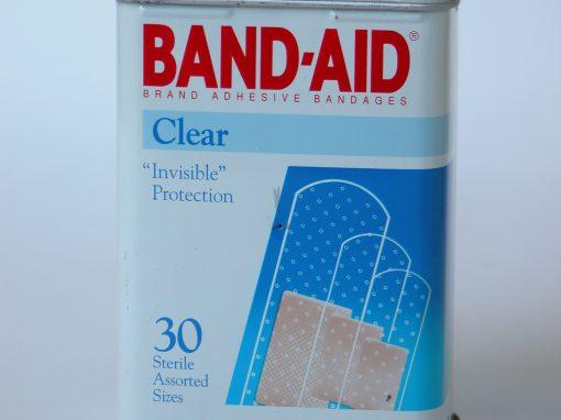 #391 Band Aid #4 (clear)