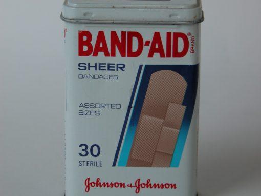 #392 Band Aid #5 (sheer)