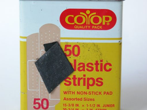 #160 CO-OP Plastic Strips / Band-Aid on Head #3