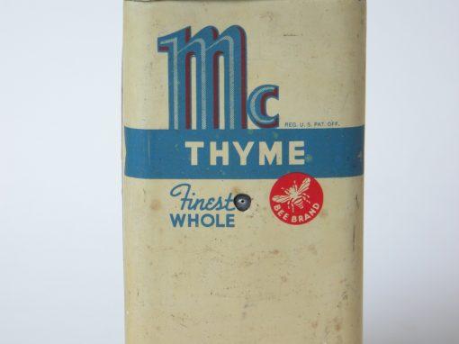 #294 Bee Brand Mc THYMNE