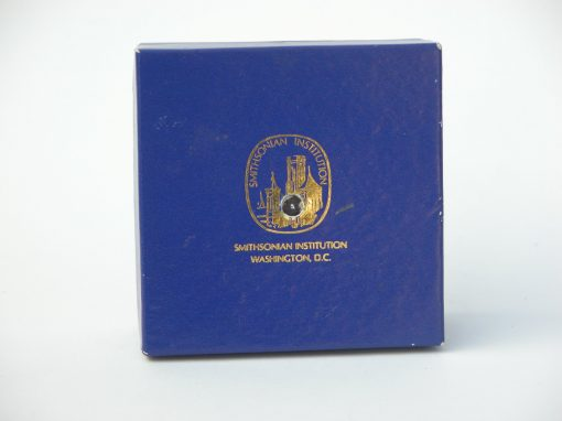 #368 Blue Smithsonian Box