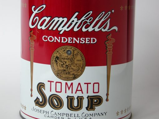 #331 Campbell's TOMATO SOUP #3 (large can)