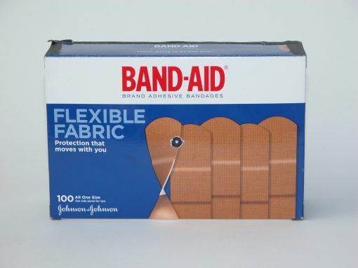 #704 Cardboard Band-Aid Box