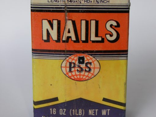#217 Drywall Nails / Construction Site