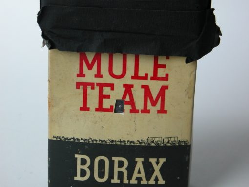 #67 20 Mule Team Borax (sm. box) / Death Valley, CA