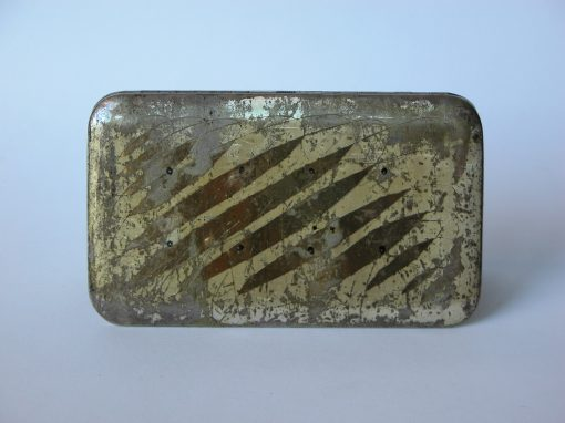 #705 Deco Cigarette Case, carte de visette