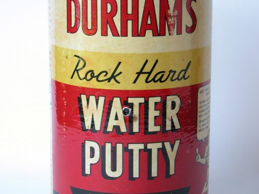 #410 Durham's Rock Hard Water Putty #2, (old, 4 lbs)