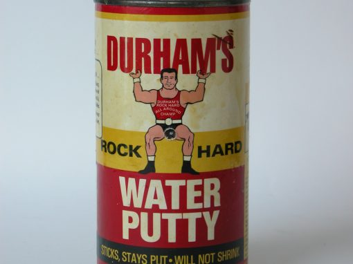 #411 Durham's Rock Hard Water Putty #3, (new, 1 lb)
