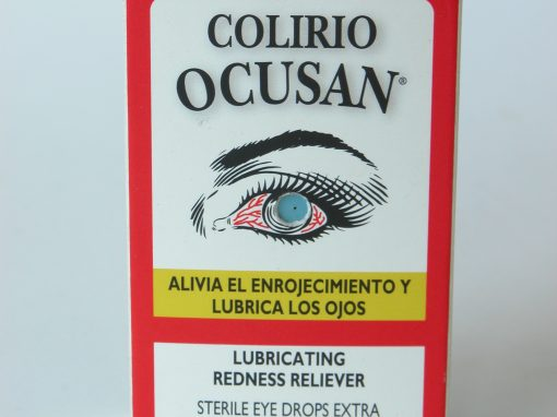 #622 Colirio OCUSAN Sterile Eye Drops / Eyeball