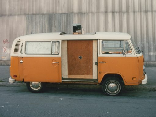 #198 VW Van Camera #2, NYSCA Grant, 1989 / George Eastman House, Rochester, NY