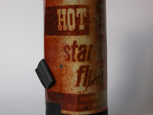 #92 Hot Shot Starter Fluid / Holly Four Barrel Carbureater