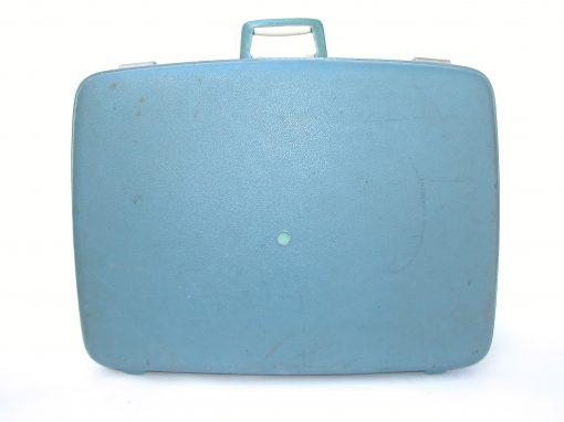 #113 Blue Plastic Suitcase / Hotel Boyd, SF