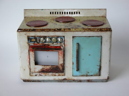#641 Miniature Metal Stove / Kitchen Stove #1