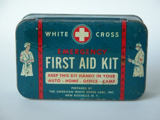 #39 First Aid Kit / Mark Johnson's Leg Cast