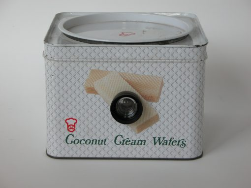 #164 Coconut Cream Wafers (lens & diaphragm) / New Condos on Third Street, SF