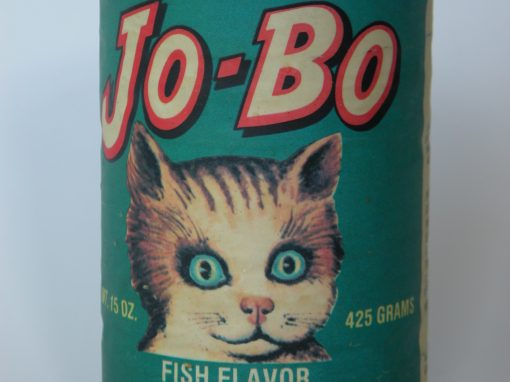 #77 JO-BO Vegetarian Cat Food / Oscar The Cat
