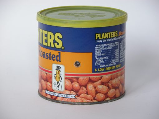 #387 Planter's Honey Roasted Peanuts #4 / Peanuts #4