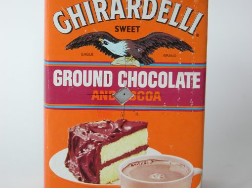 #63 Ghirardelli Chocolate #1/ Red Explosion
