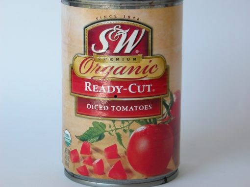 #223 S&W Organic Diced Tomatoes #1