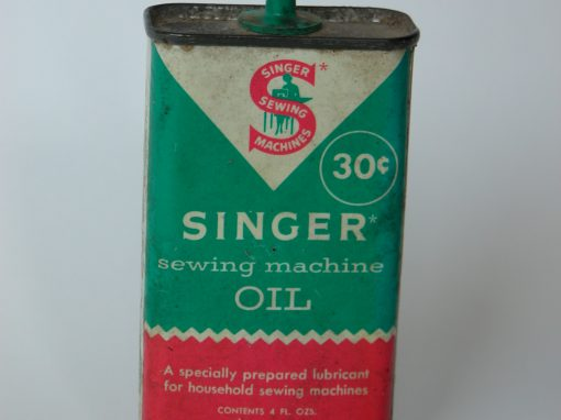 #646 Singer, 30 Cent Sewing Machine Oil