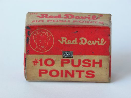 #275 Red Devil / Stack of Metal Window Points