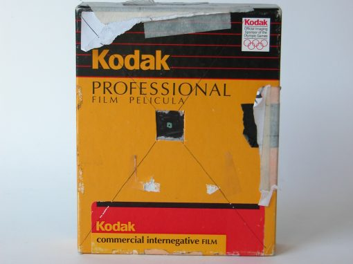 #255 Kodak 4×5 Triple-Box #5 / Stuffed Animal
