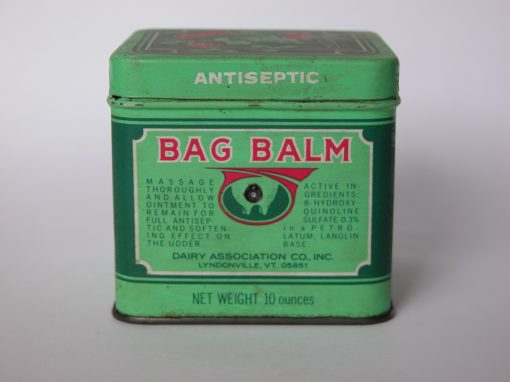 #343 Bag Balm #3 (large can) / Toy Cow