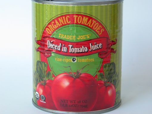 #235 Trader Joe's Organic Diced Tomatoes #1