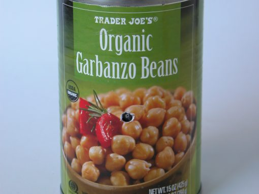 #563 Trader Joe's Organic Garbanzo Beans #3